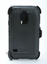Otterbox Defender Hard Shell Case w/Holster Belt Clip Samsung Galaxy S5 (Black)