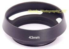 E43 Vented Lens Hood 43mm for LEICA Summilux 50mm 1.4 SUMMILUX-M 1:1.4/50mm