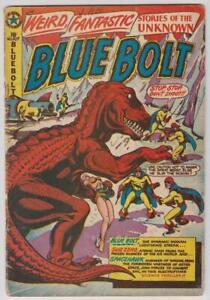 Blue-Bolt-107-Canadian-Edition-Bondage-1950-Wolverton-Kirby-VG-Minus-3-5
