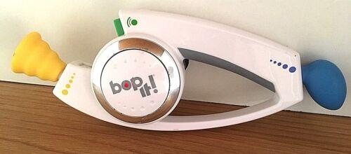 BOP IT Original White Handheld Electronic Game Toy Hasbro 2010 Bop, Pull, Twist