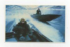 #45. SBS Men Using Rigid Raiders For A Swif  - Falklands Taskforce 1982 Postcard
