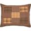 PRESCOTT-QUILT-SET-choose-size-amp-accessories-Rustic-Plaid-Brown-Lodge-VHC-Brands thumbnail 7