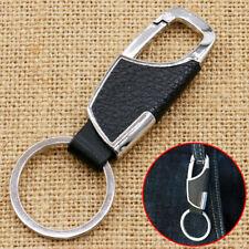 Mens Metal Leather Car Keyring Keychain Key Chain Ring Keyfob Creative New Fits Kia Soul