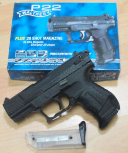 Walther-Umarex-Airsoft-Softair-Pistole-Softairpistole-P22-0-5-Joule-oder-Magaz