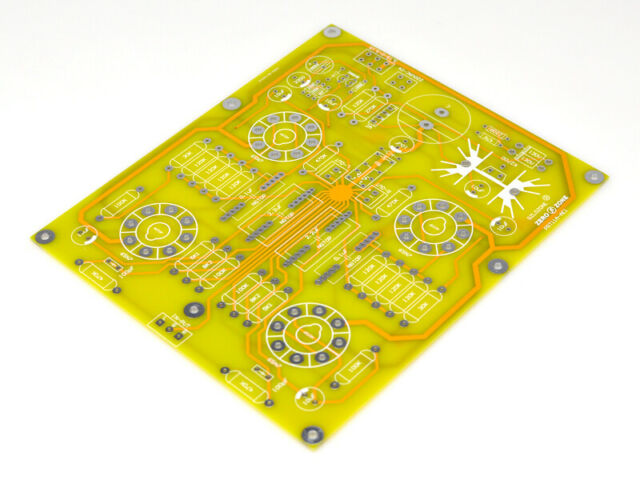 6J1 Tube Preamplifier 2.0-Channel Stereo Valve Pre-amp Board Bare PCB 257V+6.3V