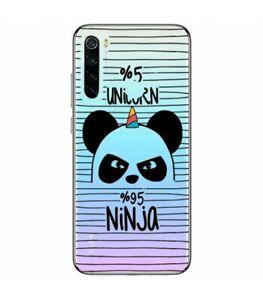 Coque-Redmi-NOTE-8T-Panda-licorne-ninja-raye-unicorn-transparente