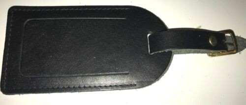 Top QUALITY Handmade bagagli vera pelle nera-nascosta indirizzo -- Made in UK