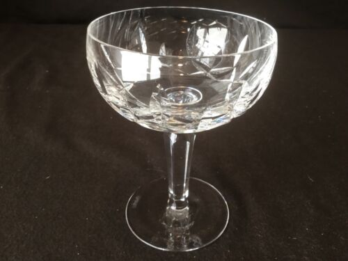 """Waterford Crystal Kildare Champagne Sherbet Glass 5 1//4/"""" H Sold Individually"""