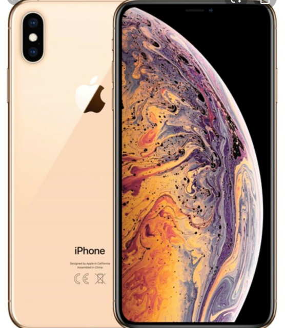 iPhone XS Max, 64 GB, guld, Perfekt, iPhone Xs Max Rosa…