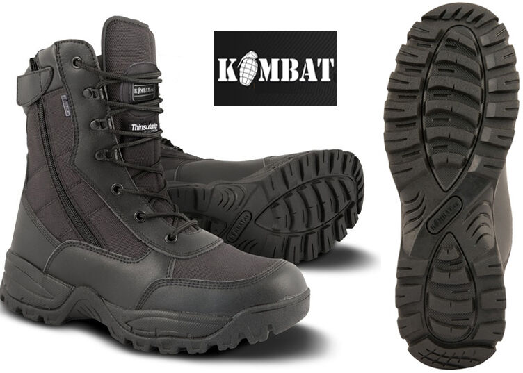 Uomo Combat Military Army Patrol Hiking Cadet Work Special Ops Recon Boot 4-12