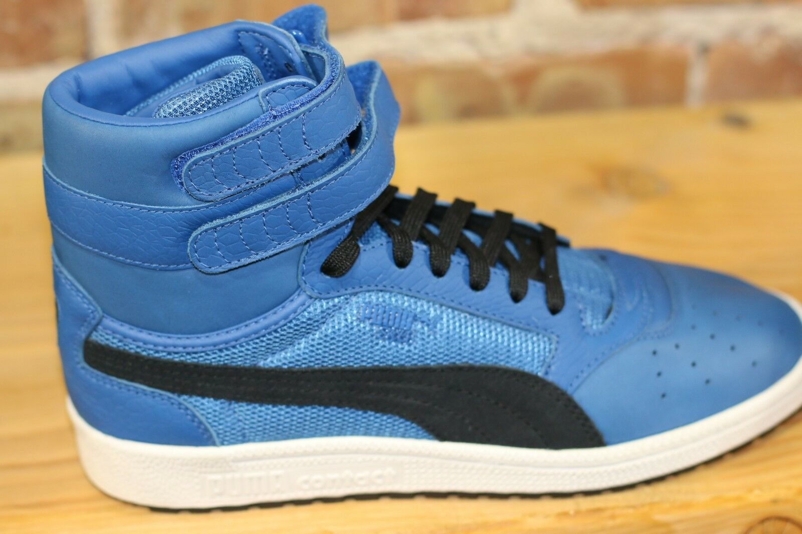 Puma Sky II HI color Blocked Leather - bluee - Mens