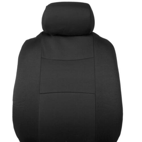 Car Seat Covers for Honda Accord Sedan /& Coupe 2 Tone Color Black w// Split Bench