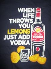 "Vintage ""When Life Throws You LEMONS Just Add VODKA"" (XL) T-Shirt"