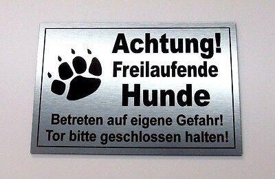 Schild,15 x 10 cm,Warnschild,Hundeschild,Hinweis Vorsicht Bissiger Hund,Gravur