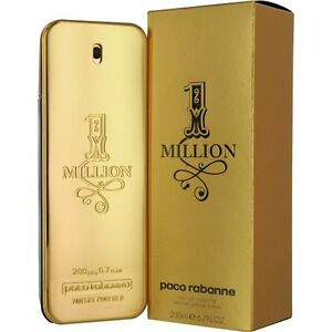 1 Million by Paco Rabbane 6 7 oz EDT Cologne for Men New In Box