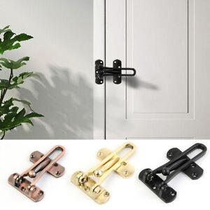 Door Guard Restrictor Security Catch Strong Heavy Duty ...