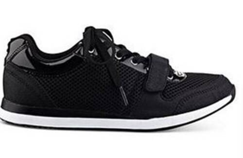 Women/'s Shoes G By Guess JOGGER Sneakers Fabric Black Multi