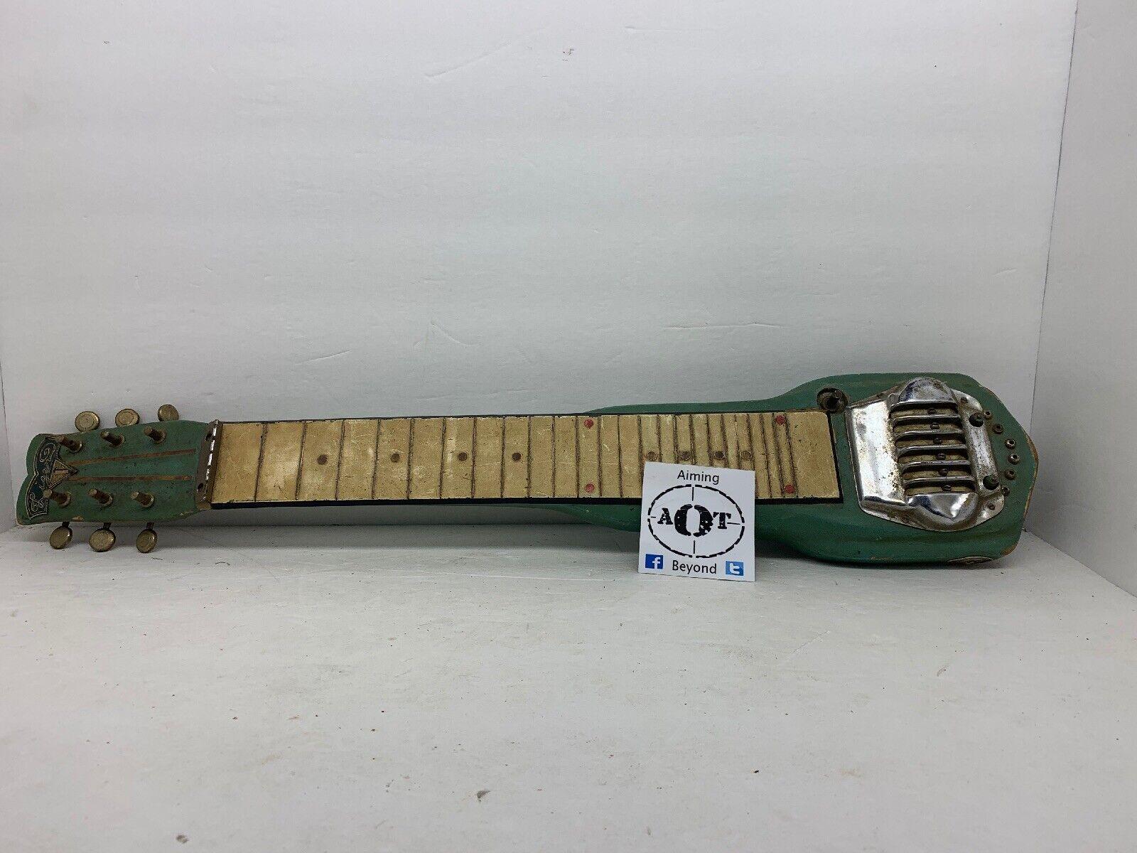 World War 2 ERA -1940s Liger Lap Guitar - Japanese Styled Electric Guitar