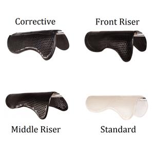 Gel NonSlip Saddle Impact Absorbing Washable Breathable Corrective Half Pad Tack
