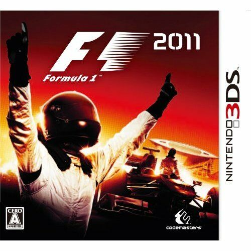 Very Good 3DS F1 2011 Import Japan