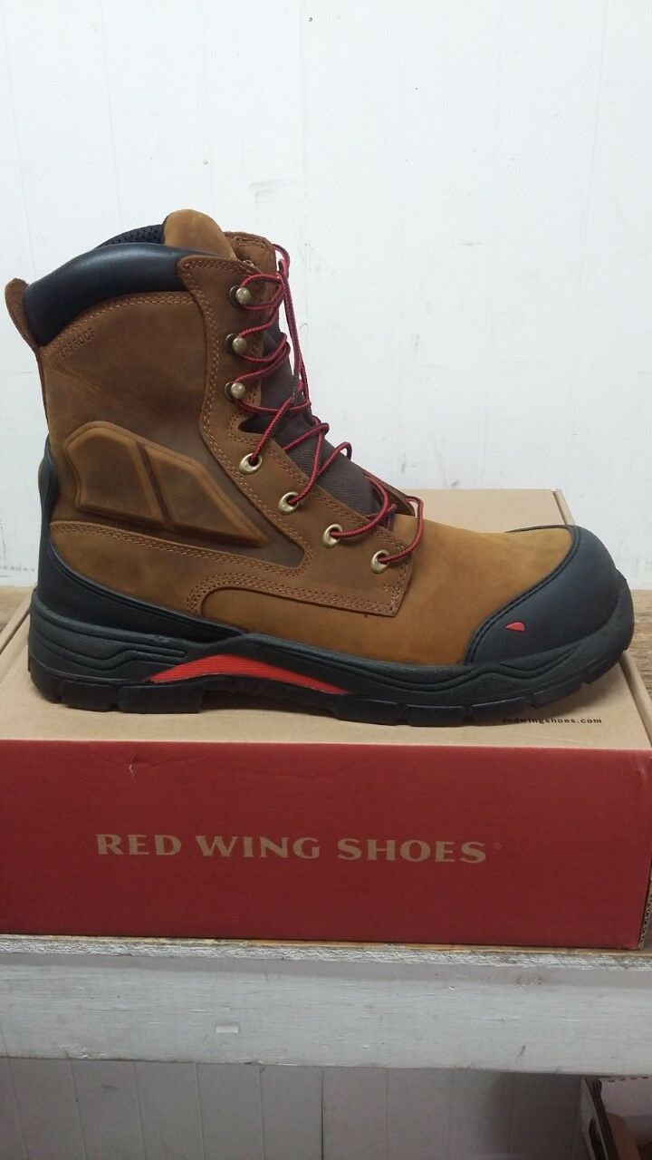 Red Wing Men's Style King Toe 8 Inch Boot Electrical Hazard Non-Metallic T