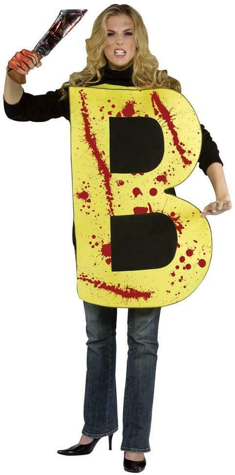 The Killer B Poly-Foam Adult Costume One Size Fits Most