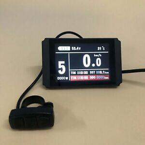 KT-LCD8H-Color-matrix-Display-Meter-36V-48V-for-Electric-Bicycle-KT-display