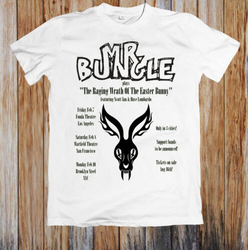 Mr Bungle Performs The Raging Wrath of the Easter Bunny in Trio Unisex T Shirt