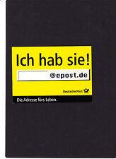 """"""" ich hab sie ! @epost.de """" Postkarte, siehe Scan"""