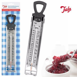 Tala Steel Jam Sugar Thermometer Cooking Candy Deep Fry