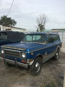 1978 INTERNATIONAL HARVESTER SCOUT **PROJECT**