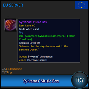 Sylvanas-039-Music-Box-Toy-All-Europe-Server-WoW-Warcraft