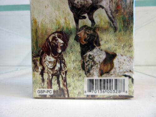New German Shorthaired Pointers Poker Playing Cards Set of Card Ruth Maystead