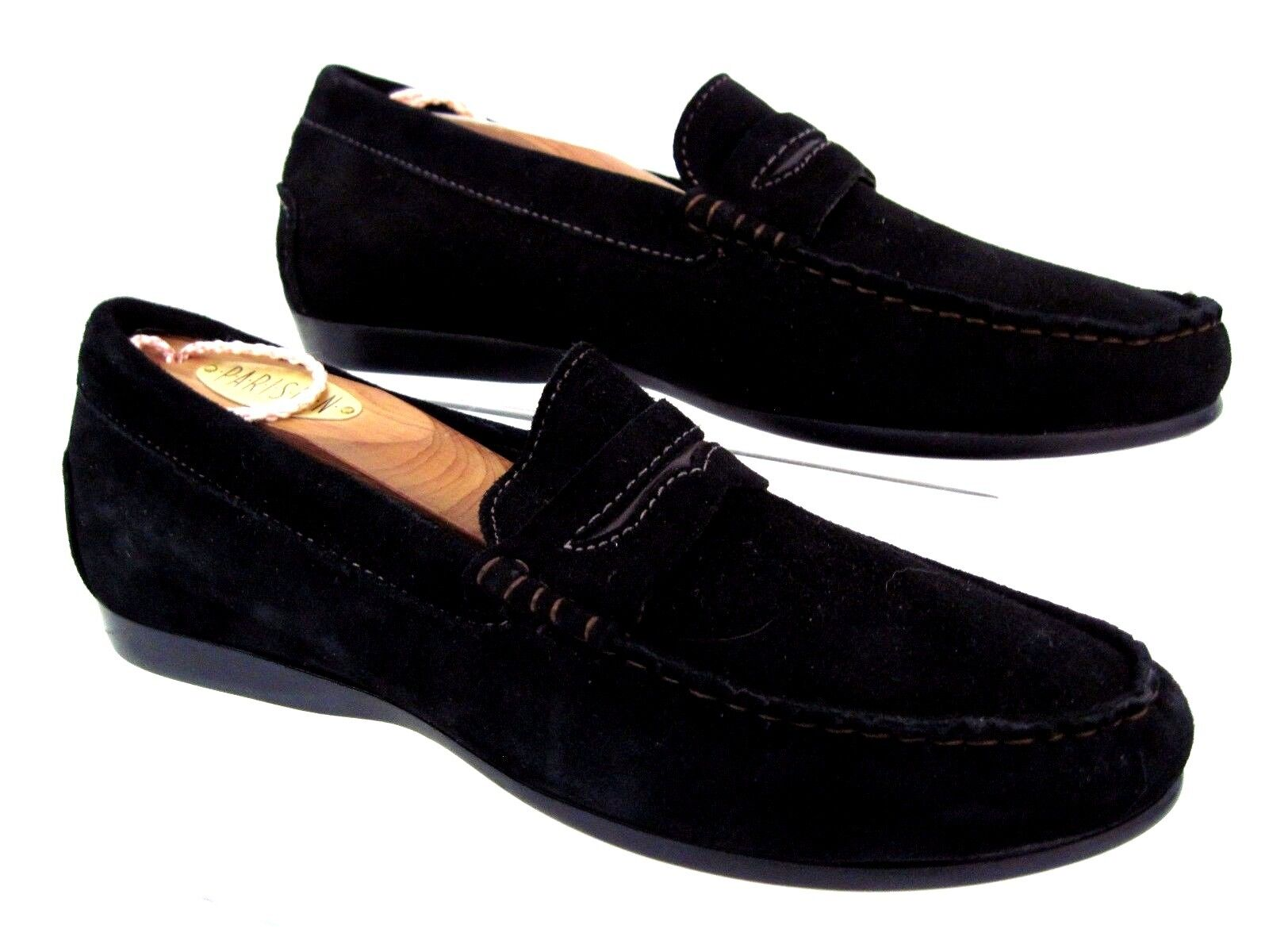 MUNRO American Black Suede Penny Style Loafers Size 6.5 6.5 6.5 M USA 0dd96f