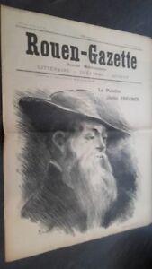 JOURNAL-HEBDOMADAIRE-ROUEN-GAZETTE-N-19-SAMEDI-1ER-OCTOBRE-1910-ABE