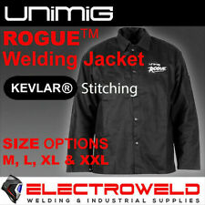 Rogue Proban Welding Jacket Unimig Spatter Protection Sleeve Arms Heat Resistant