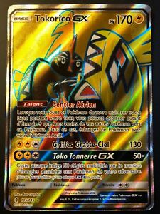 carte pokemon tokorico gx Pokemon card tokorico 135/145 gx full art sun and moon 2 sl2 fr