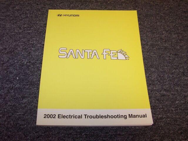 2002 Hyundai Santa Fe Electrical Wiring Diagram Manual Gl