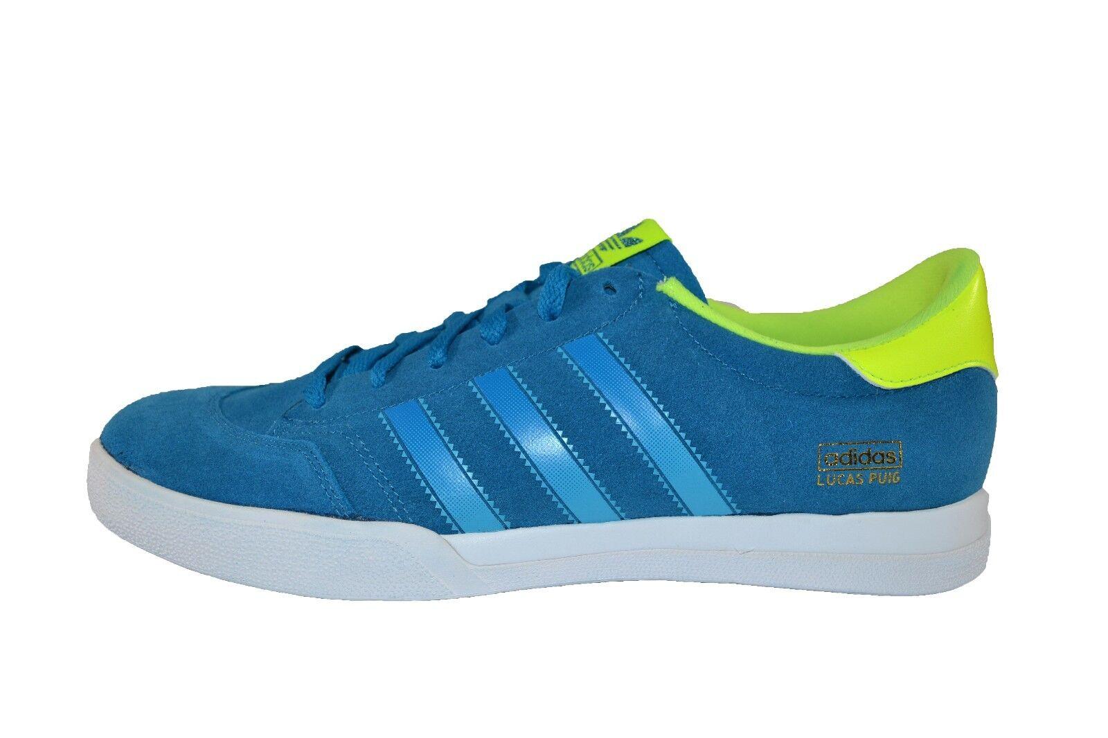 Adidas LUCAS Dark Solar bluee Samba bluee Electric Discounted (255) Men's shoes