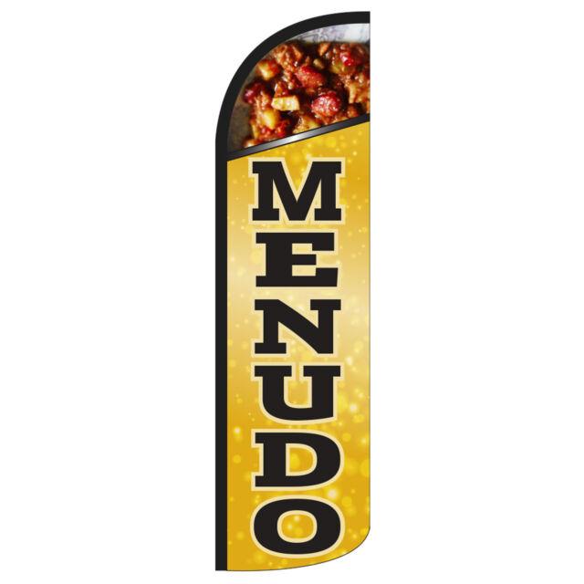 Menudo Flag Flutter Feather Banner Swooper Advertising Bundle Kit COMPLETE