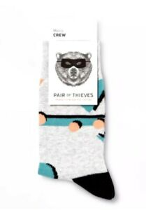 NWT-Men-039-s-Pair-of-Thieves-Saved-by-the-Bell-Crew-Socks-Size-8-12