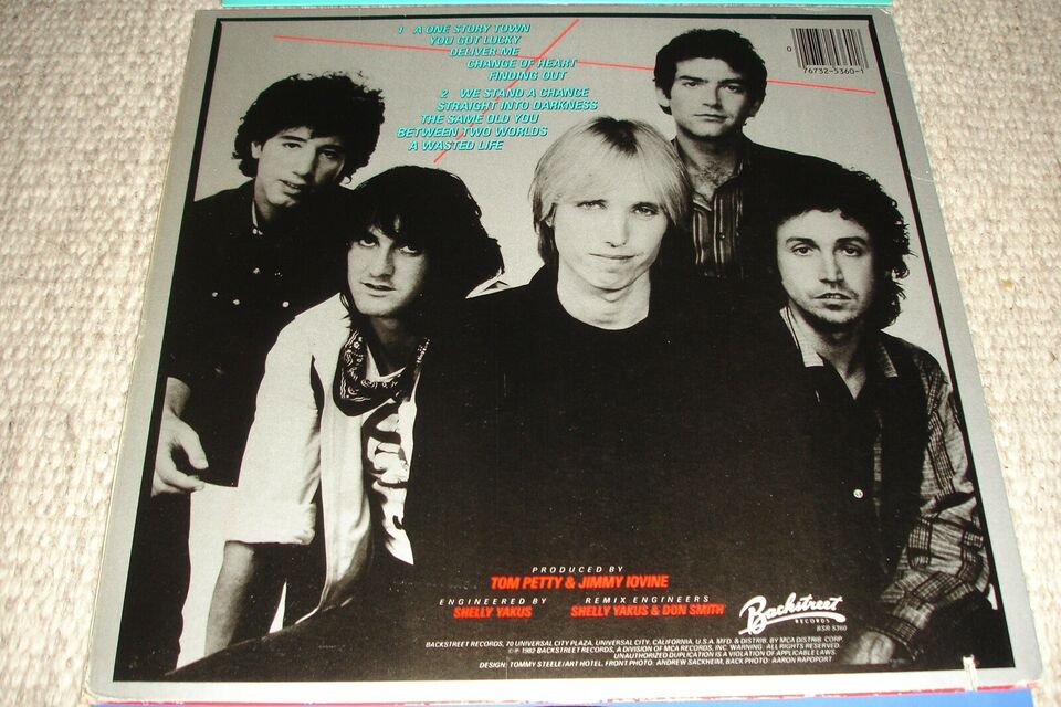 LP, Tom Petty And The Heartbreakers, Long After Dark