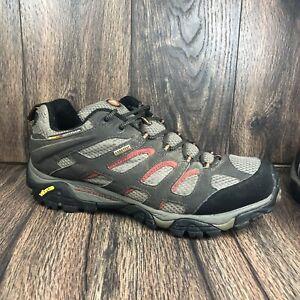 Merrell Moab Gore-Tex Hiking GRX XCR Shoes Dark Chocolate Men's Size 10 J87323