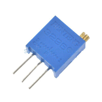 10pcs 3296 W High Precision Variable Resistor Potentiometer Trimmer 202 2K ohm
