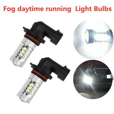 2* H8 LED Bulbs Foglight Daytime Running Light DRL 6000K 1920LM 80W 2323 White