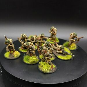 Well-Painted-28mm-Bolt-Action-Us-Airborne-Squad-4-Warlord-Games