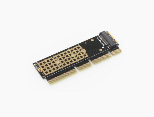 Heatsink 1U Server Mini PC HTPC M.2 NVMe SSD PCI-E 3.0 x4 x8 x16 Adapter Card