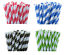 200-Biodegradable-Kraft-Paper-Drinking-Straws-Black-Birthday-Cafe-Take-Away thumbnail 4