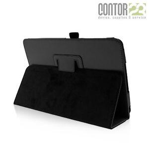 """Tablet Schutzhülle Tasche Case SCHWARZ [10.1"""" Samsung Galaxy Tab A SM-T580/T585]"""