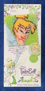 Image Is Loading Latch Hook Kit Disney Tinker Bell 12 034